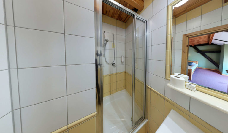stara stajnia łazienki